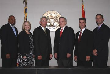 City of Flowood officials and council